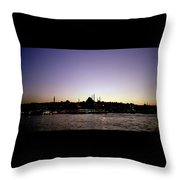 Bewitching Istanbul Throw Pillow