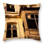 Beyoglu Old House 02 Throw Pillow
