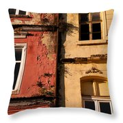 Beyoglu Old Houses 02 Throw Pillow