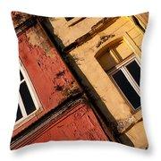 Beyoglu Old Houses 03 Throw Pillow
