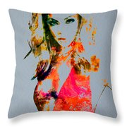 Beyonce Irreplaceable Throw Pillow