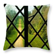 Beyond M'lord's Chamber Throw Pillow