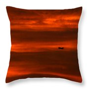 Beyond Now By Denise Dube Throw Pillow