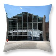 Beyond Recovery - Casino Ruin Ashbury Park Throw Pillow