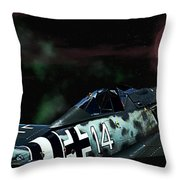 Beyond The Bermuda Triangle Throw Pillow