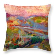 Beyond The City Throw Pillow