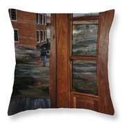 Beyond The Frame Throw Pillow