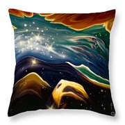 Beyond The Furthest Point Throw Pillow