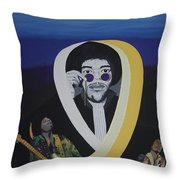 Beyond The Haze Throw Pillow
