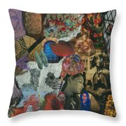 Beyond The Mask Throw Pillow