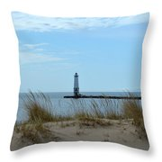 Beyond The Sand Throw Pillow