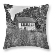 Beyond The Wheat Farm Throw Pillow