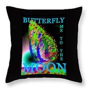 Bfmttmoon Word Splash Throw Pillow