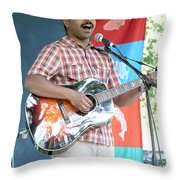 Bhi Bhiman Throw Pillow