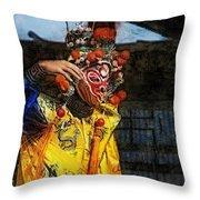Bian Jiang Dancer Lux Hp Throw Pillow