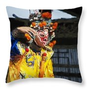 Bian Jiang Dancer Neo Hp Throw Pillow
