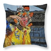 Bian Jiang Dancer Sync Hp Throw Pillow