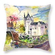 Biarritz 01 Throw Pillow