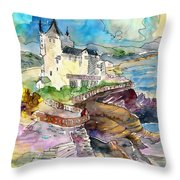 Biarritz 02 Throw Pillow
