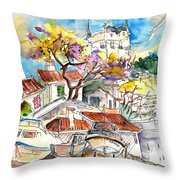 Biarritz 10 Throw Pillow