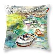 Biarritz 17 Bis Throw Pillow