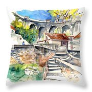 Biarritz 18 Throw Pillow
