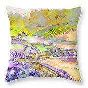 Biarritz 24 Throw Pillow