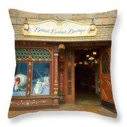 Bibbidi Bobbidi Boutique Fantasyland Disneyland Throw Pillow