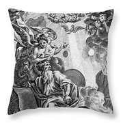 Bible History, 1752 Throw Pillow