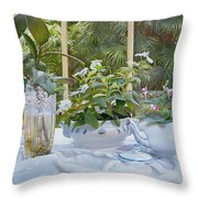 Bicchiere Verticale Throw Pillow