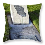 Bicentennial Time Capsule Santa Clara California Throw Pillow