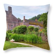 Bickleigh Castle - Devon Throw Pillow