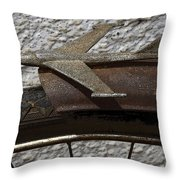 Bicycle Nostalgia 1 Throw Pillow