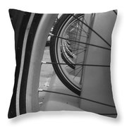 Bicycle Tires..... Throw Pillow