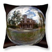 Bidwell Mansion Through A Glass Eye Throw Pillow