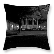Bienville Square Grandstand Posterized Throw Pillow