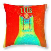Biere Thb - Beer - Madagascar Throw Pillow