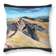 Bierstadt Saddle Throw Pillow