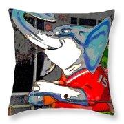 Big Al - Bama's Mascot Throw Pillow