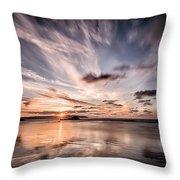 Atlantic Sky Throw Pillow