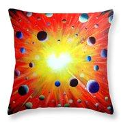 Big Bang - 4 Throw Pillow