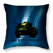 Big Bang Theory Throw Pillow by Bob Orsillo