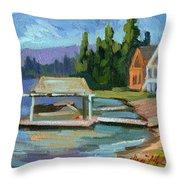 Big Bear Lake South Shore 2 Throw Pillow