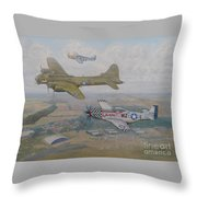 Big Beautiful Doll's Farewell  Throw Pillow