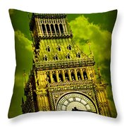 Big Ben 14 Throw Pillow