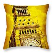 Big Ben 15 Throw Pillow