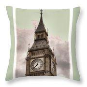 Big Ben - London Throw Pillow