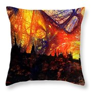 Big Ben Shocker Throw Pillow