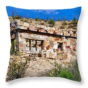 Big Bend Architecture Throw Pillow