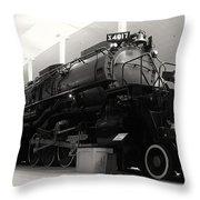 Big Boy 4017 Throw Pillow